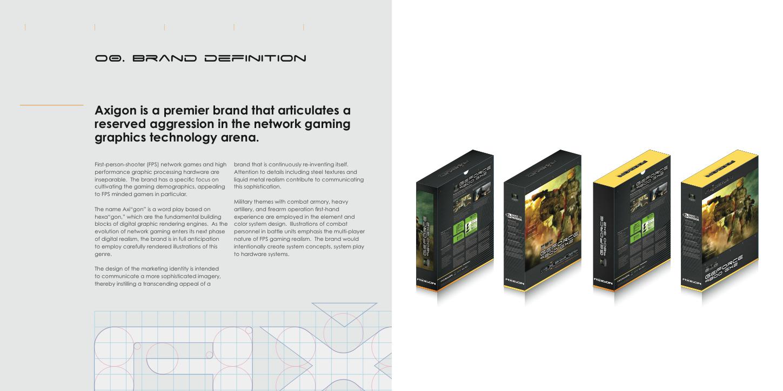 Axigon Gaming Graphic Branding