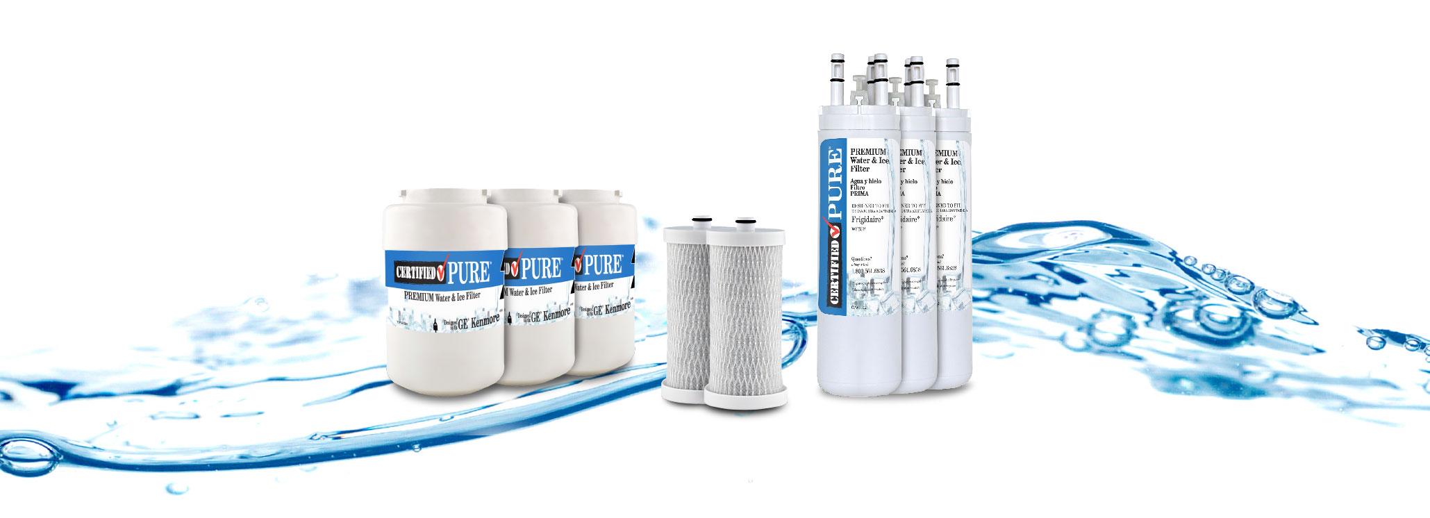 CertifiedPure Product Banner - UX Website Design