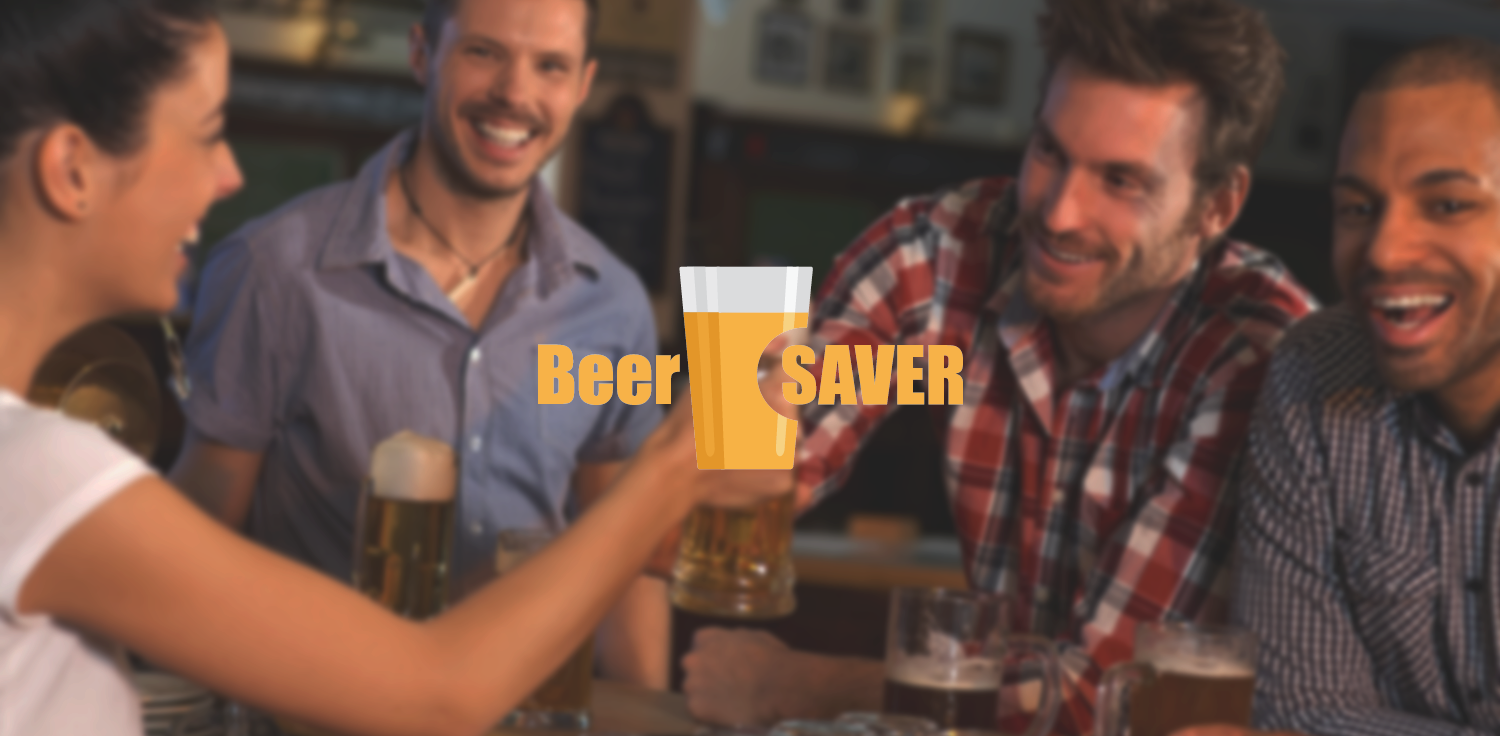 BeerSAVER Brand Logo Graphic Design - Interaction Design