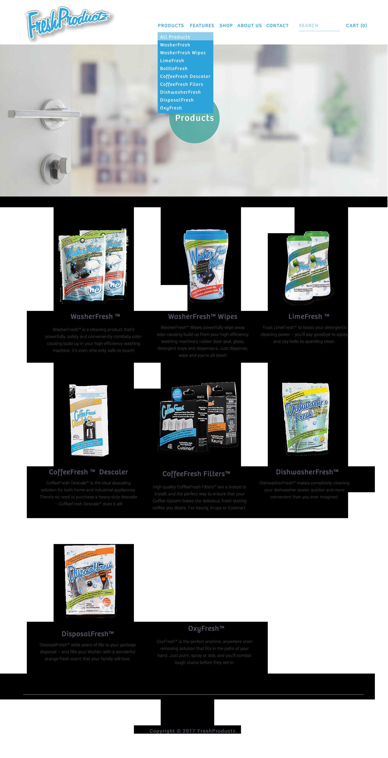FreshProductz WebUX