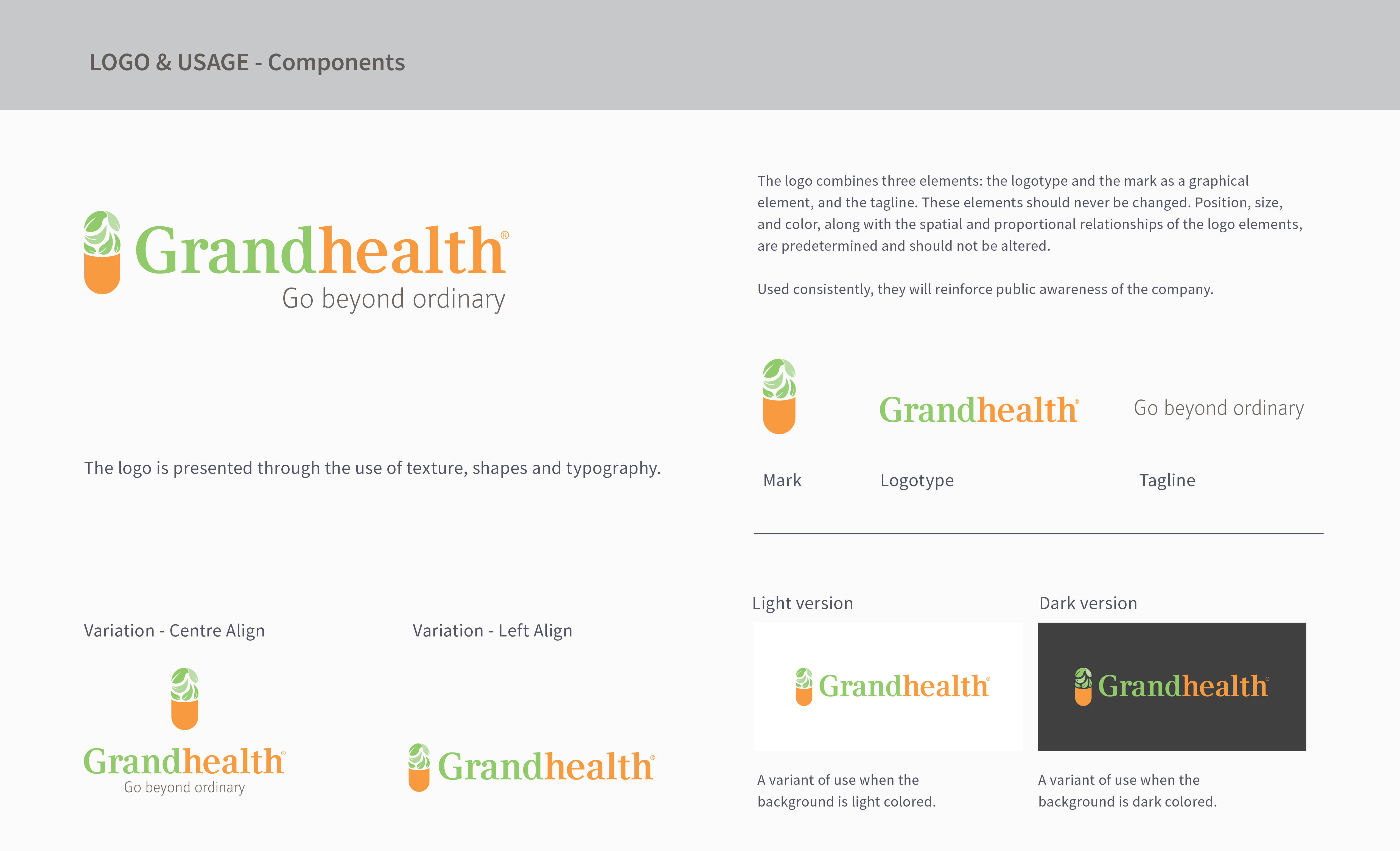 Grandhealth Logo Component