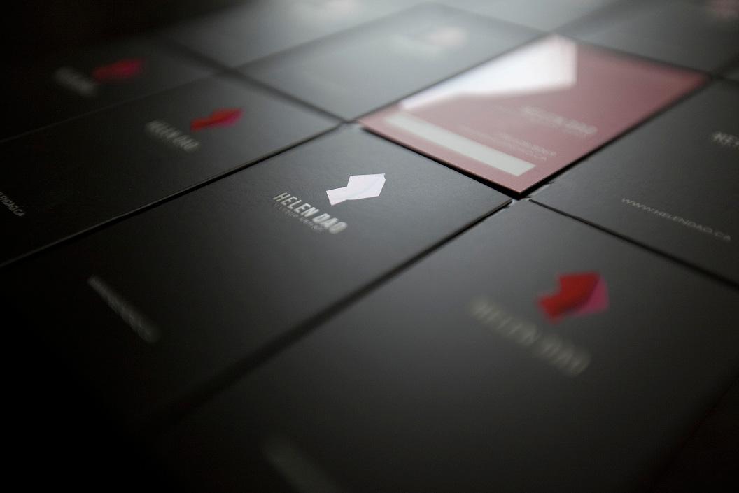 Helen Dao Branding - Business Cards