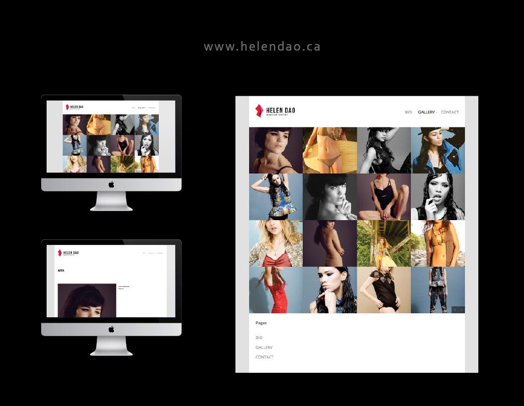 Helen Dao Website Development