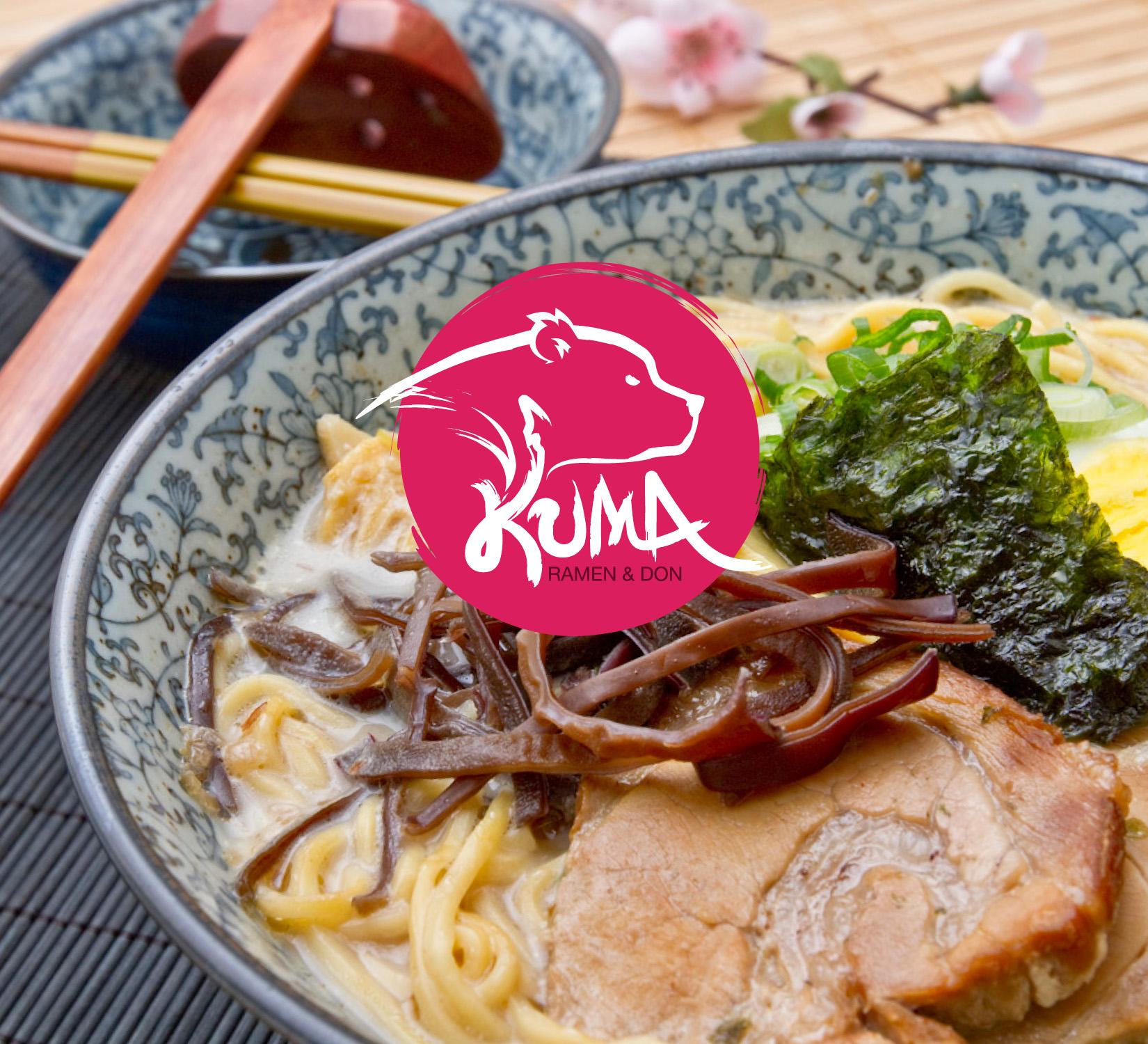 Kuma Logo - Ramen Restaurant Design