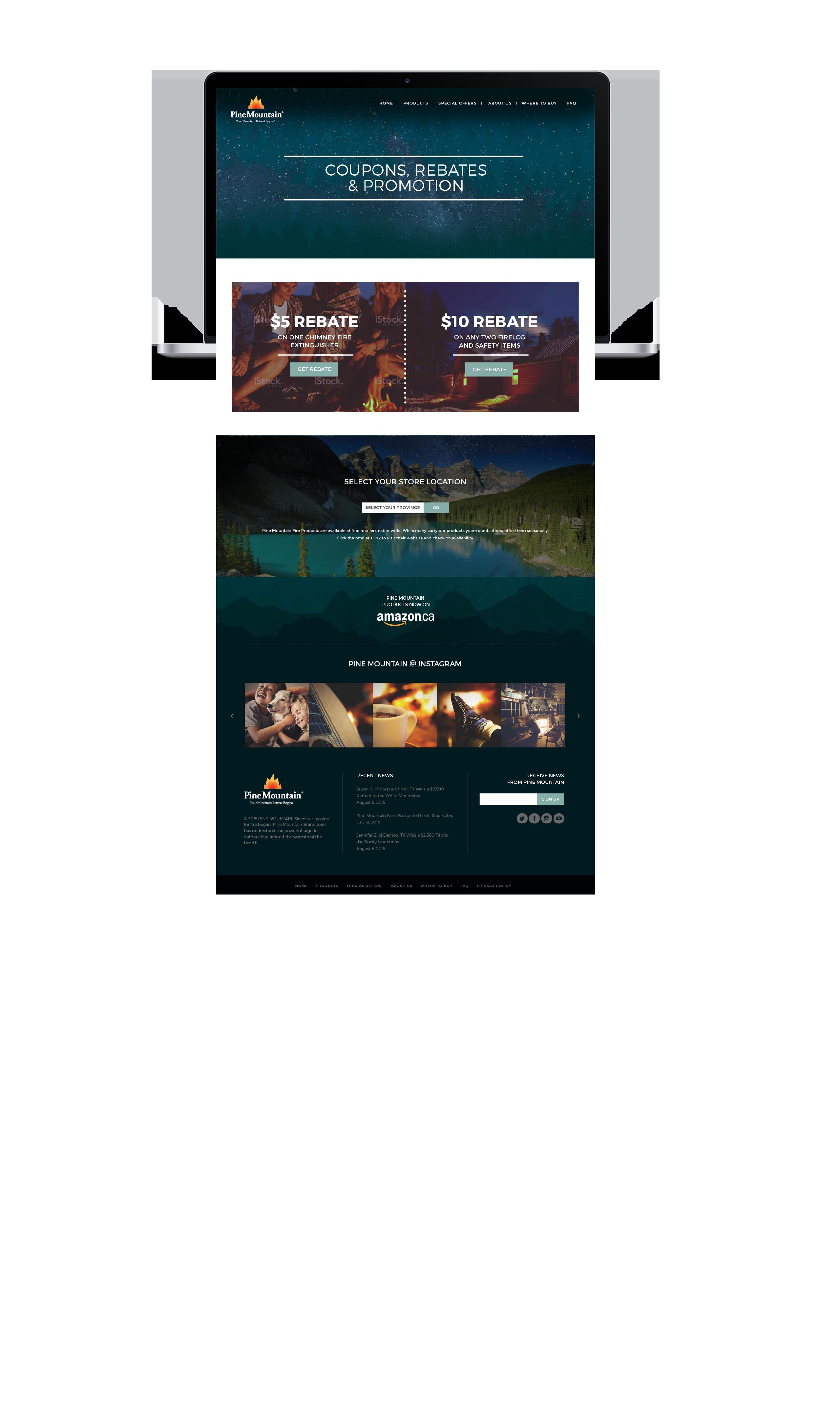 Pine Mountain - Website Design