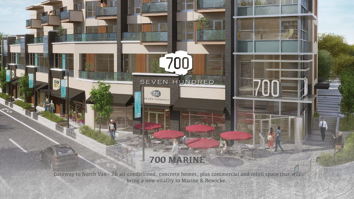 700 Marine - Vancouver Real Estate Branding & Website Design