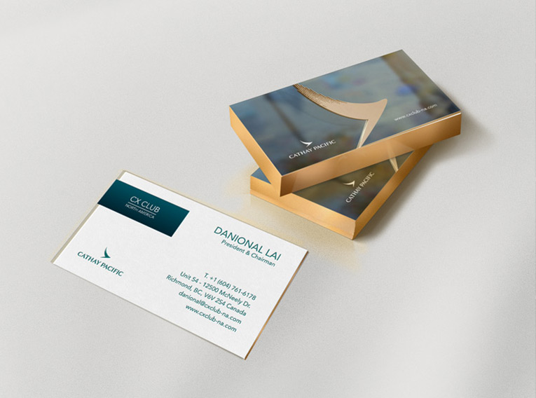 CX Club Stationery -Club Event Marketing & Branding Design