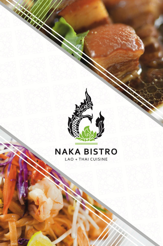 Naka Bistro - logo design