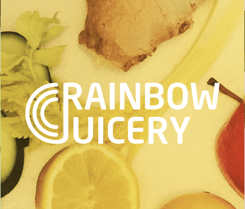 Rainbow Juicery - company logo design
