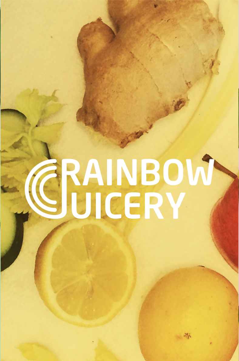 Rainbow Juicery - company logo design