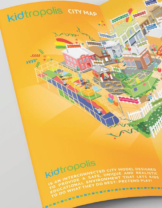 Kidtropolis - branding brochure