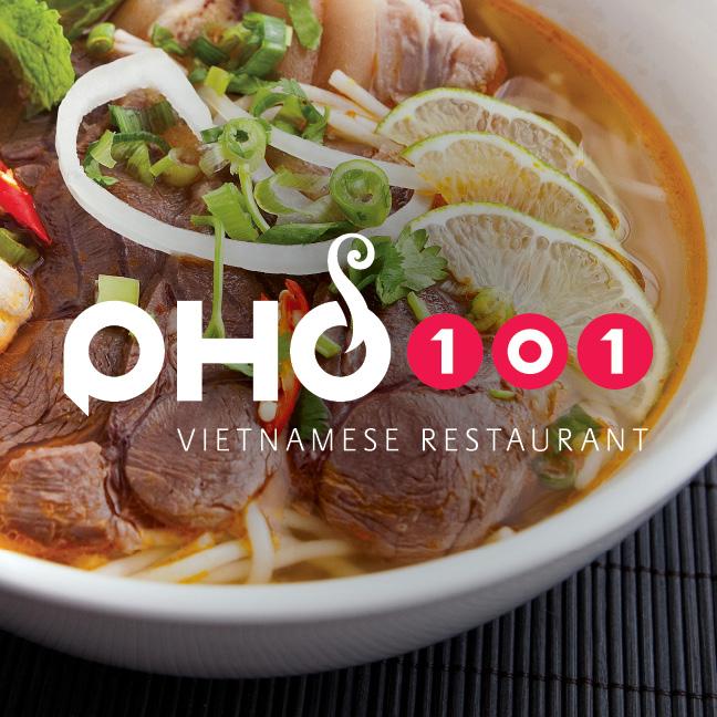 Pho101 Logo - Restaurant Design