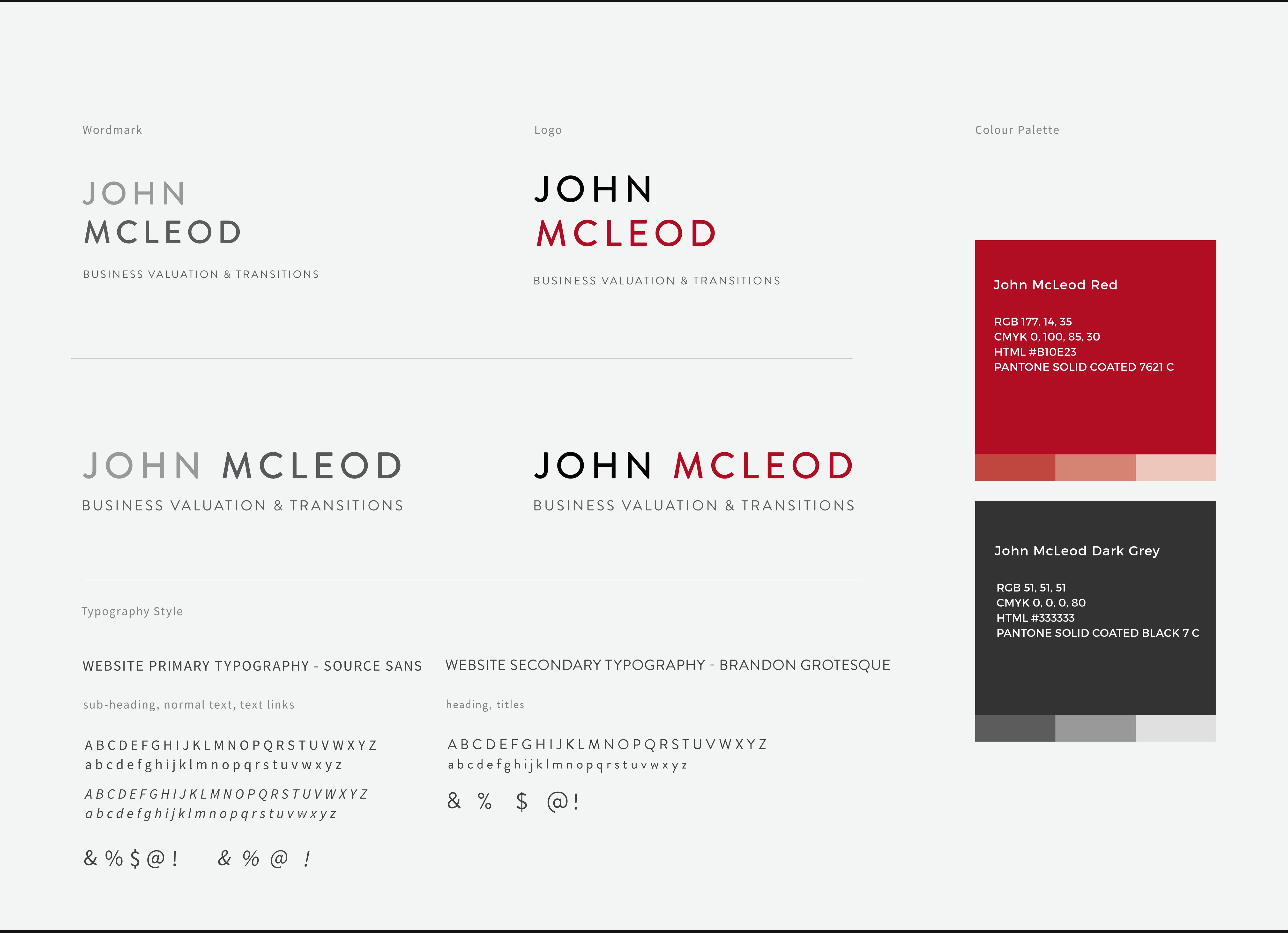 JohnMc Leod Logo Design