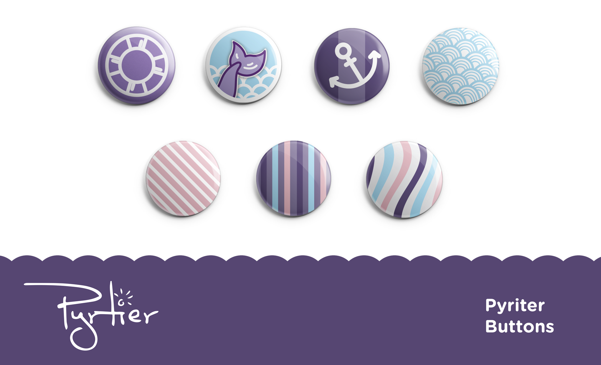 Pyrtier Clothing Button Design