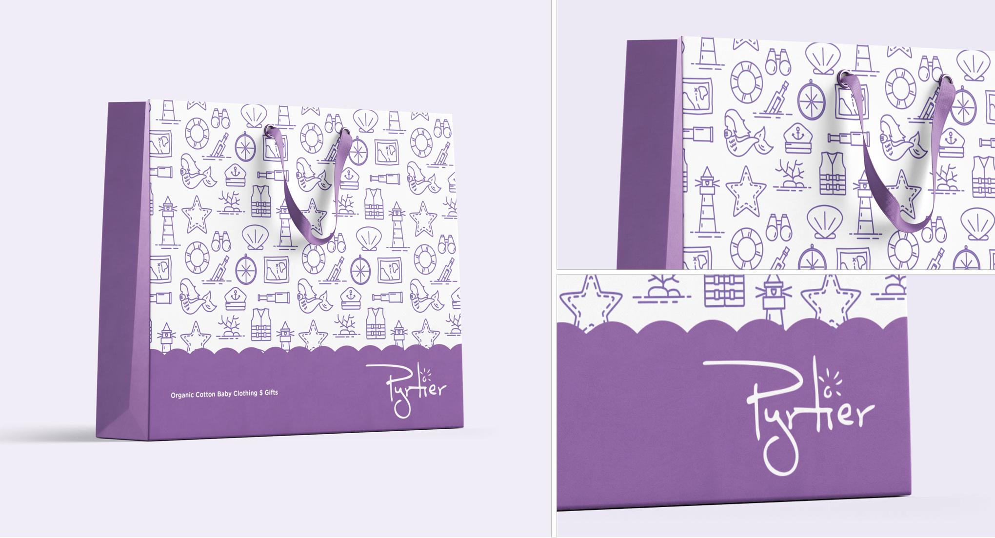 Pyriter Clothing Packaging Design