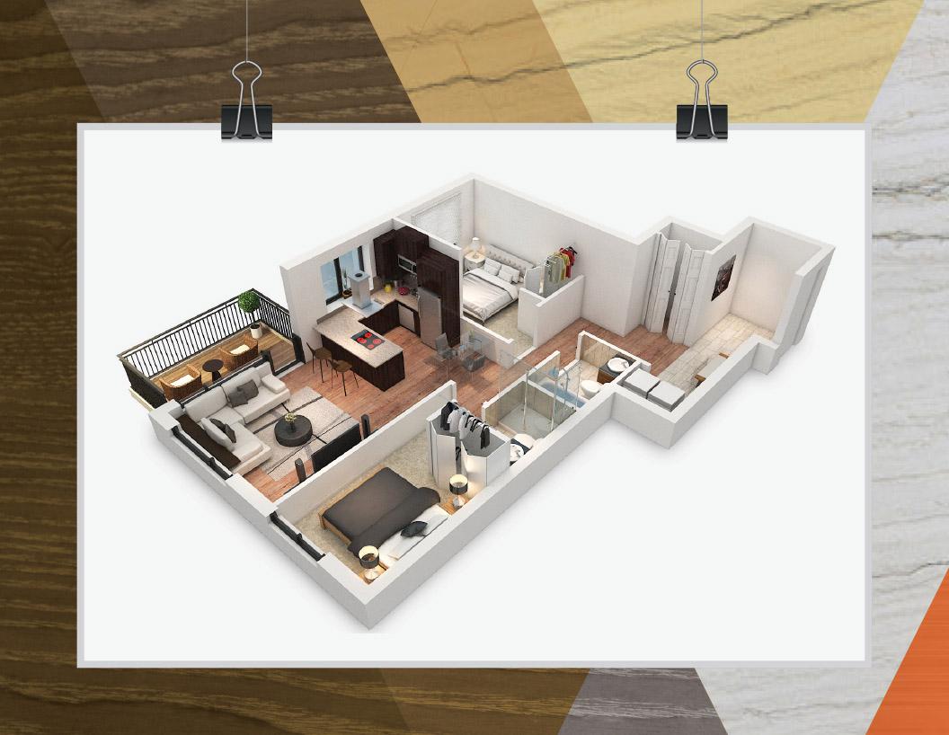 SOH Condo Architectural rendering