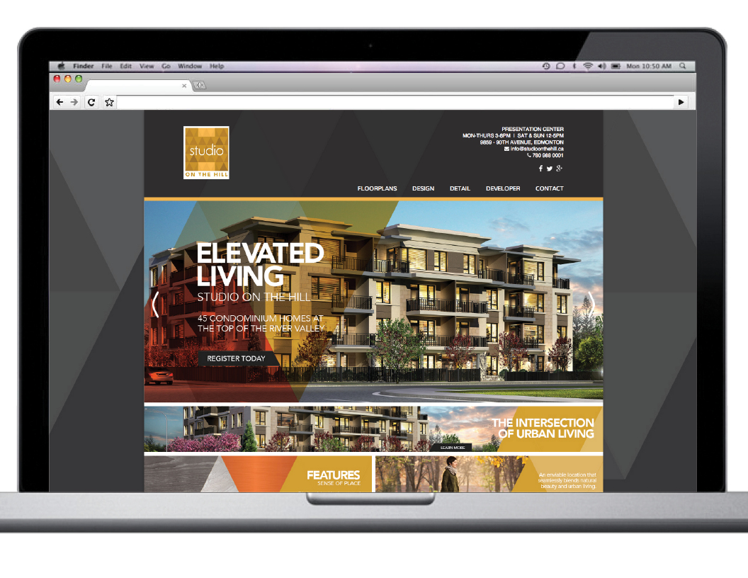 SOH Condo Social media web design