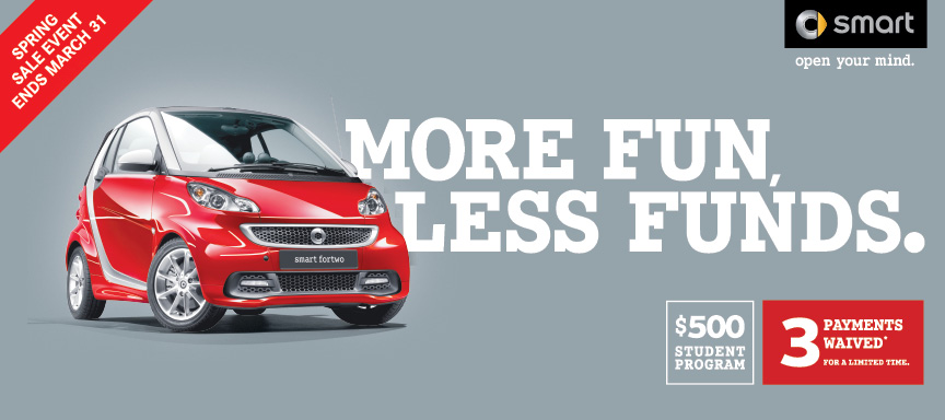 2016 Smart ForTwo Automotive Advertising Design_Marketing