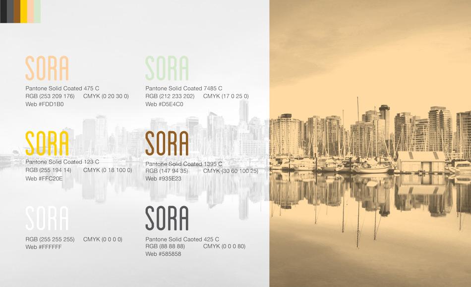 Sora Energy Color Palette