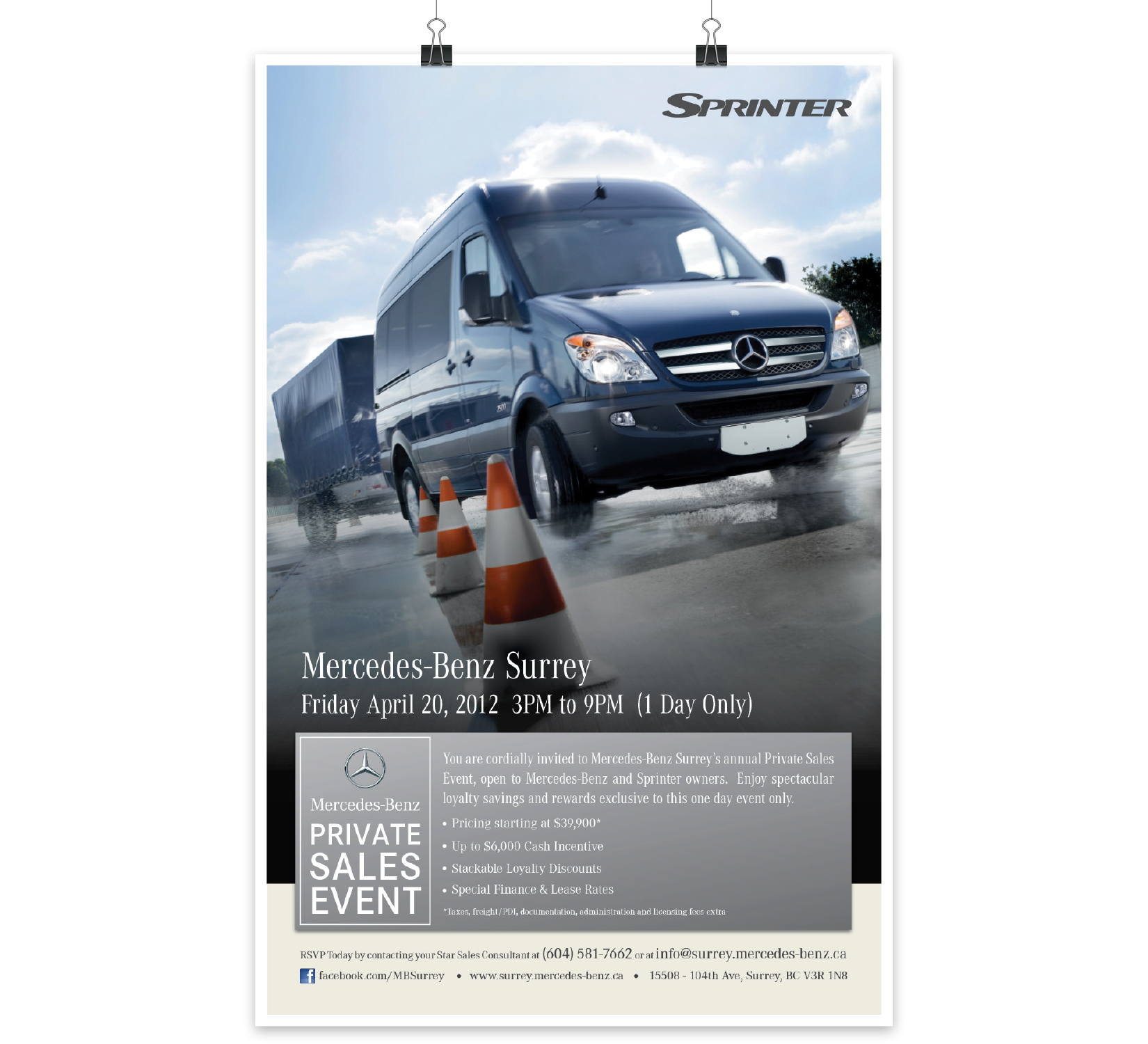 Sprinter Automotive Advertising