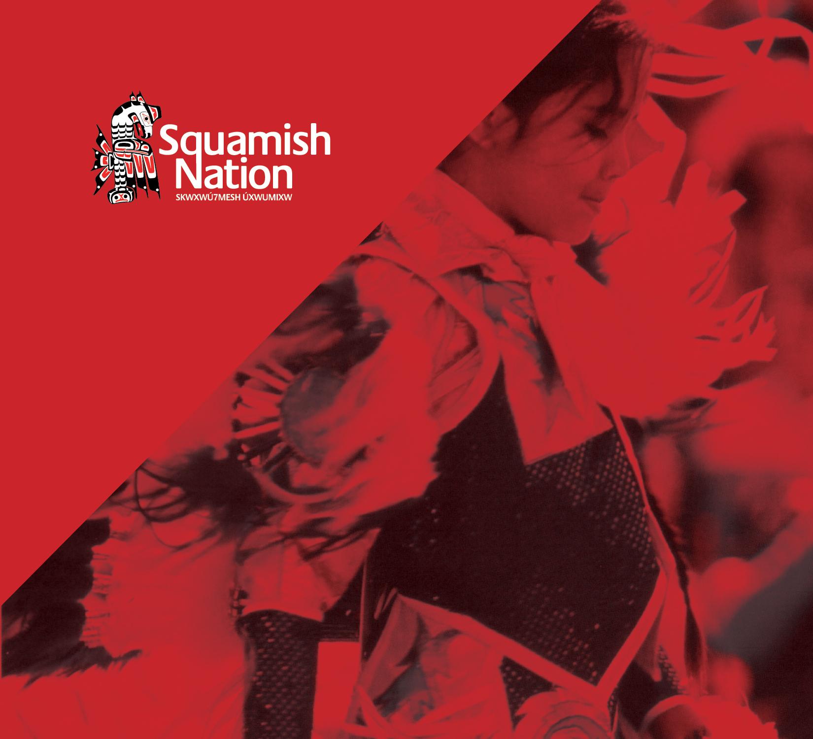 SquamishNation Art Direction Branding Logo
