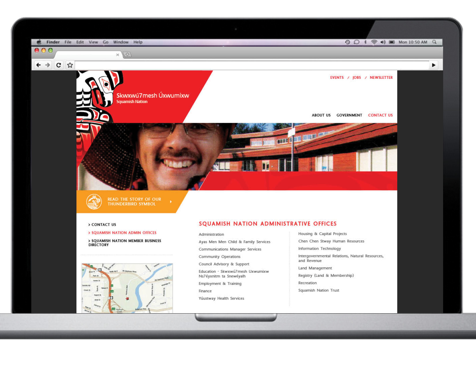 SquamishNation Web Design Art Direction