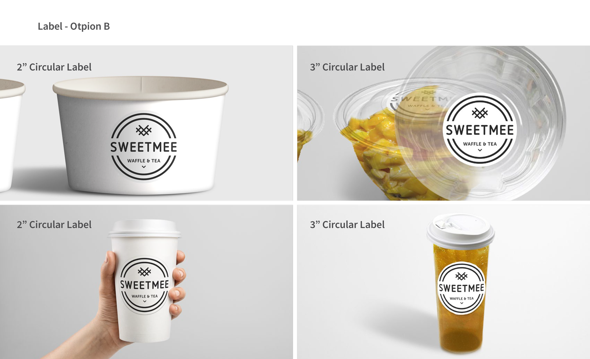 Sweet Mee Package Design Option B