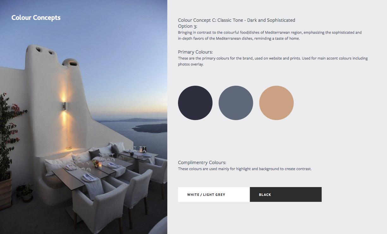 Villa Palma Mediterranean Color Concept