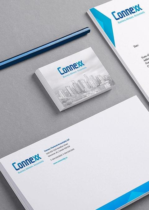Connexx - branding design stationary
