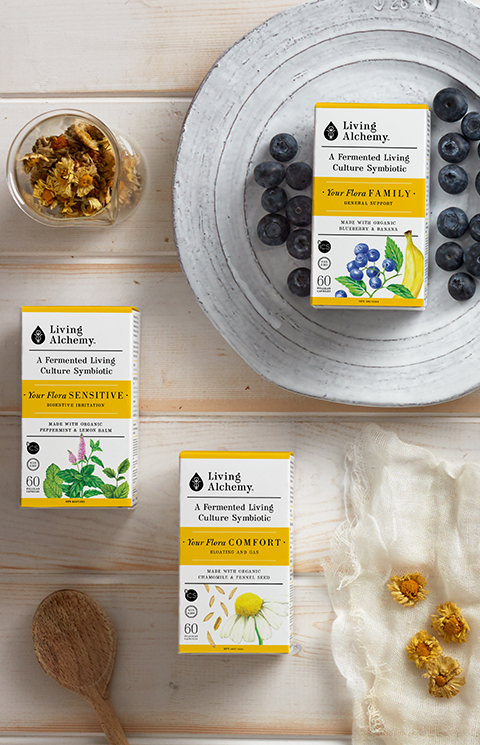 Living Alchemy - package branding design