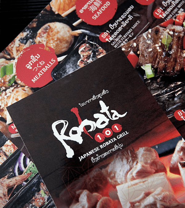 Robata - logo design and branding