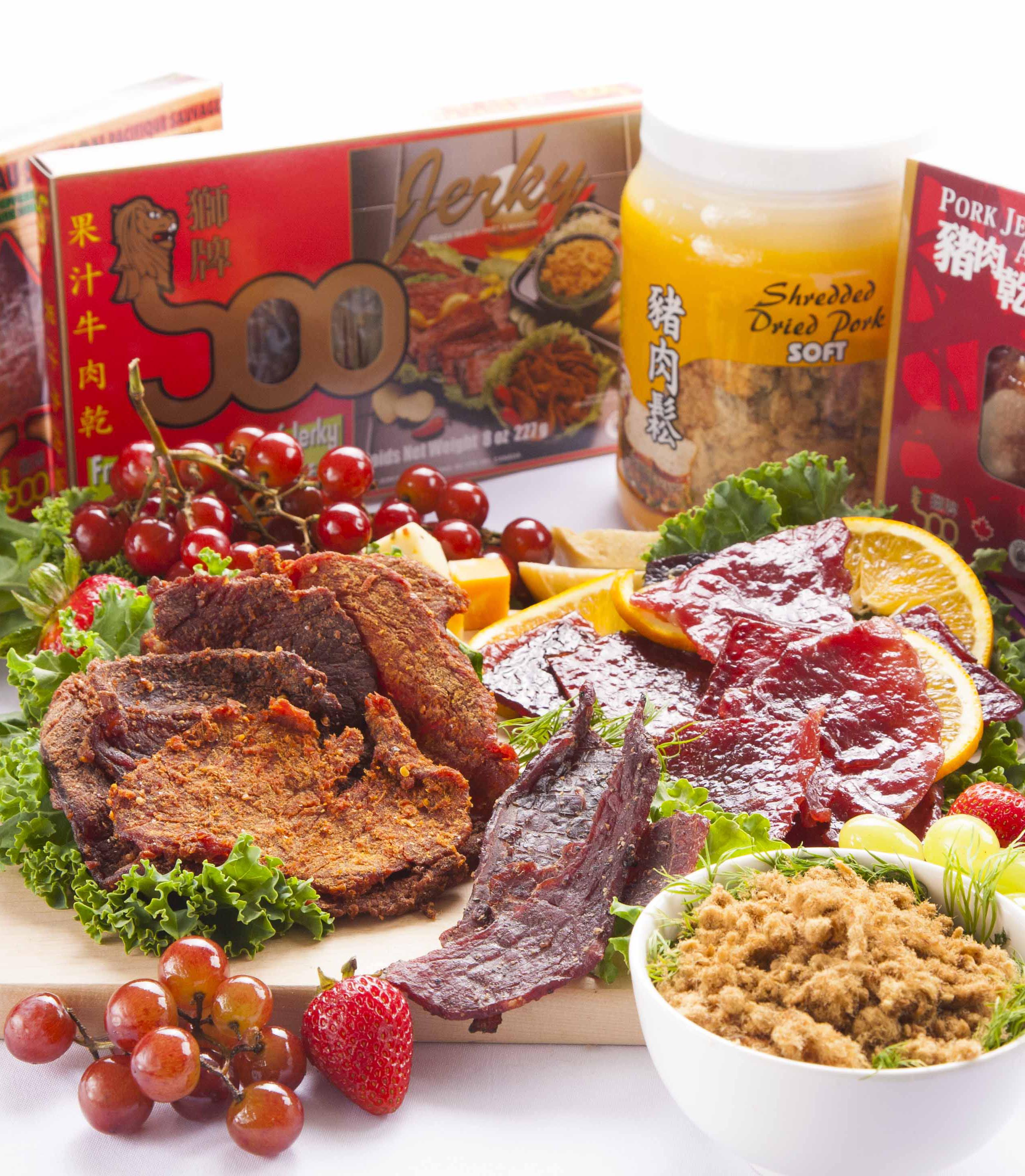 Soo Jerky - food photography