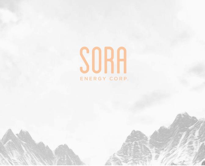 Sora Energy Corp - logo design