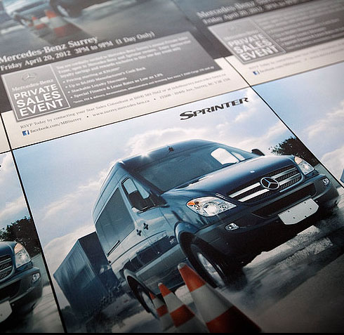 Sprinter - print advertising