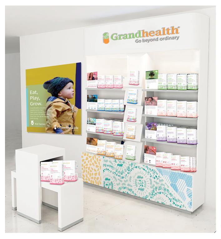 Grandhealth Product Display Design