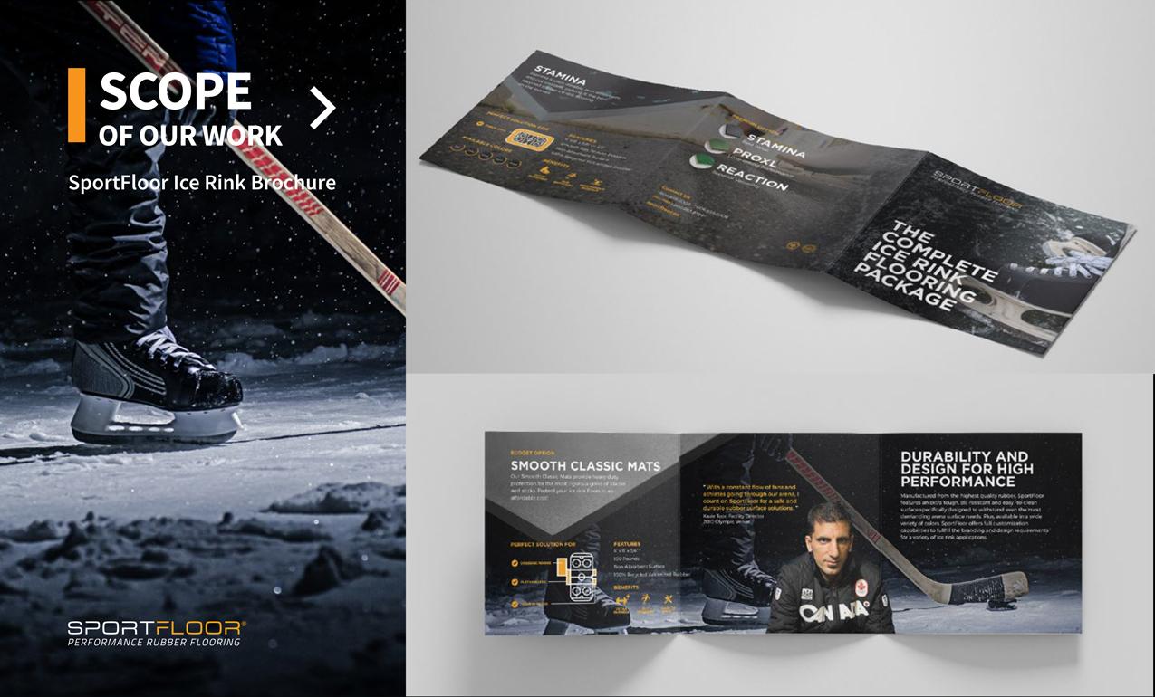 SportFloor Ice Rink Brochure - Branding Brochure