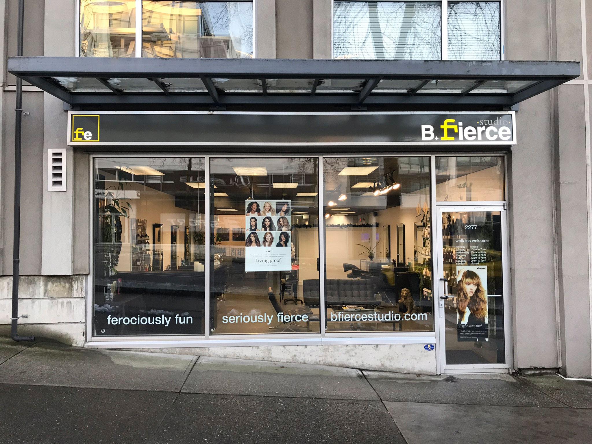 B Fierce Storefront