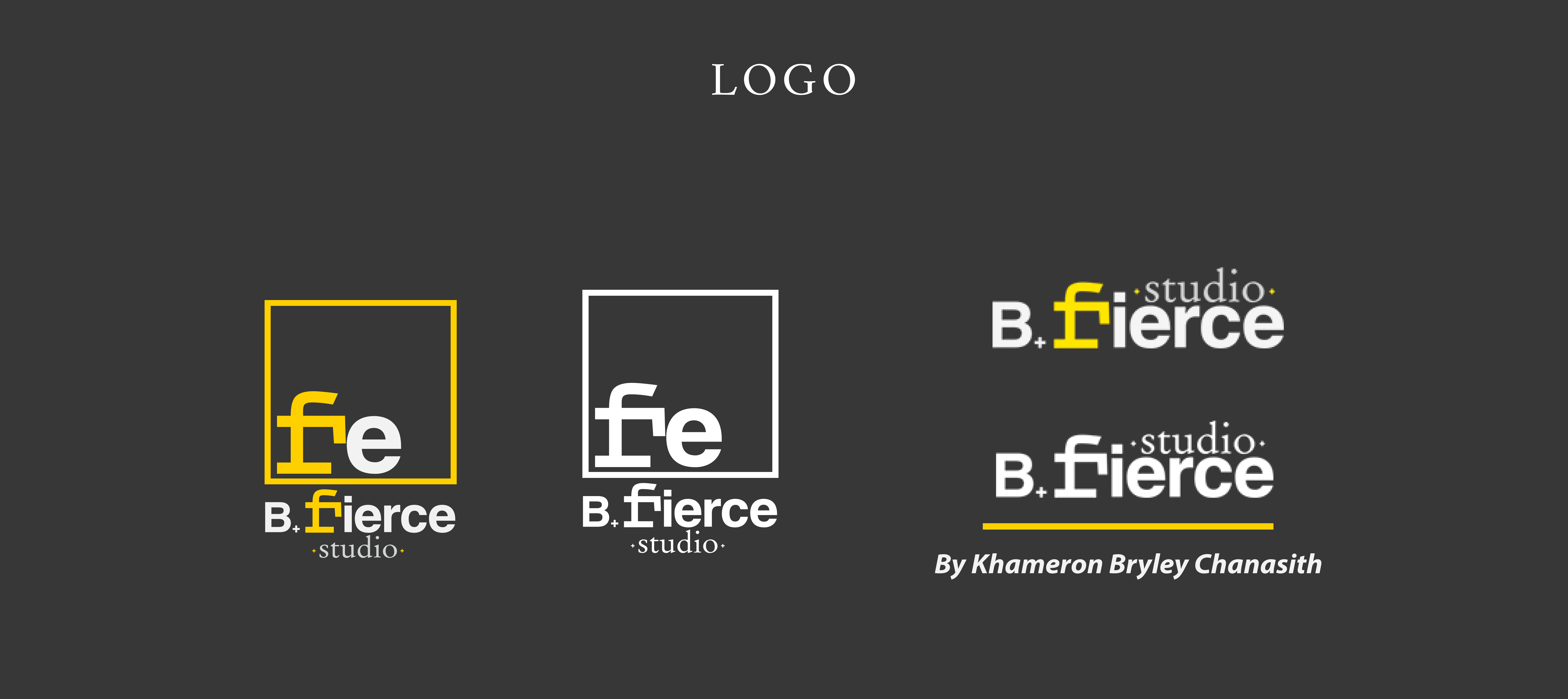 B Fierce - Logo Design