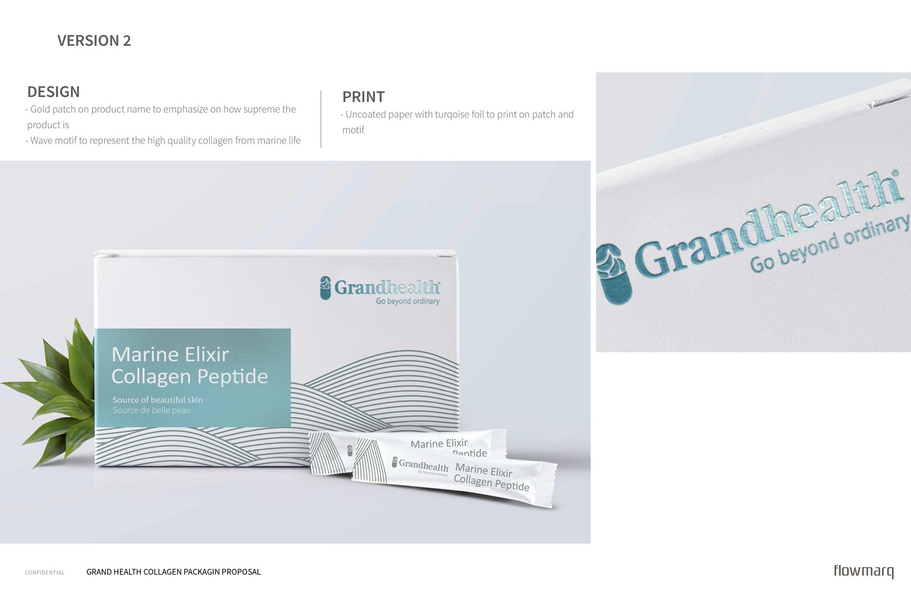 Grandhealth Packaging Design