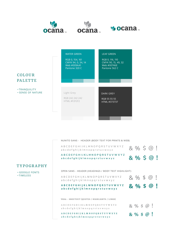 Ocana Branding Guide