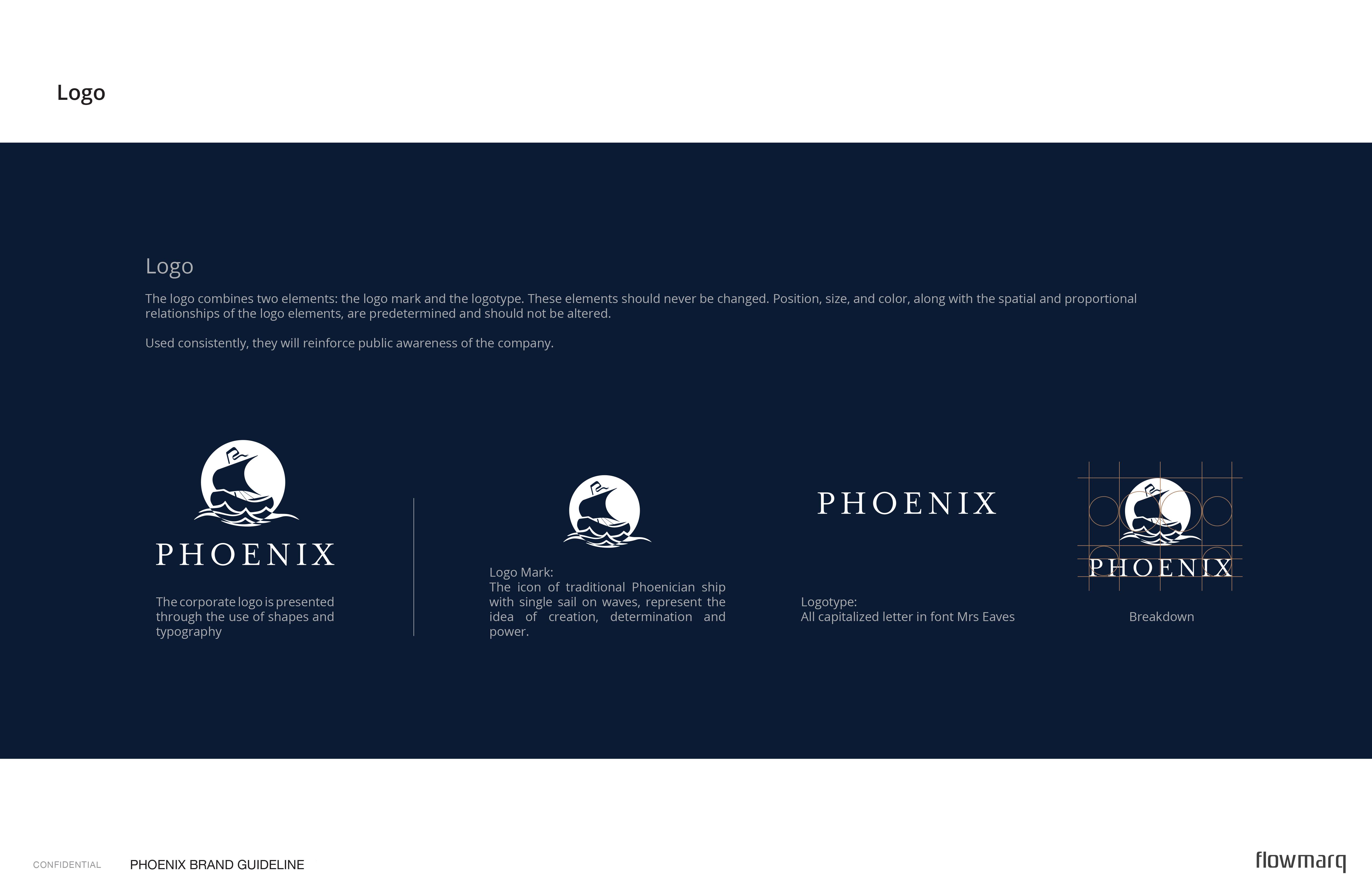 Phoenix - branding guide logo usage