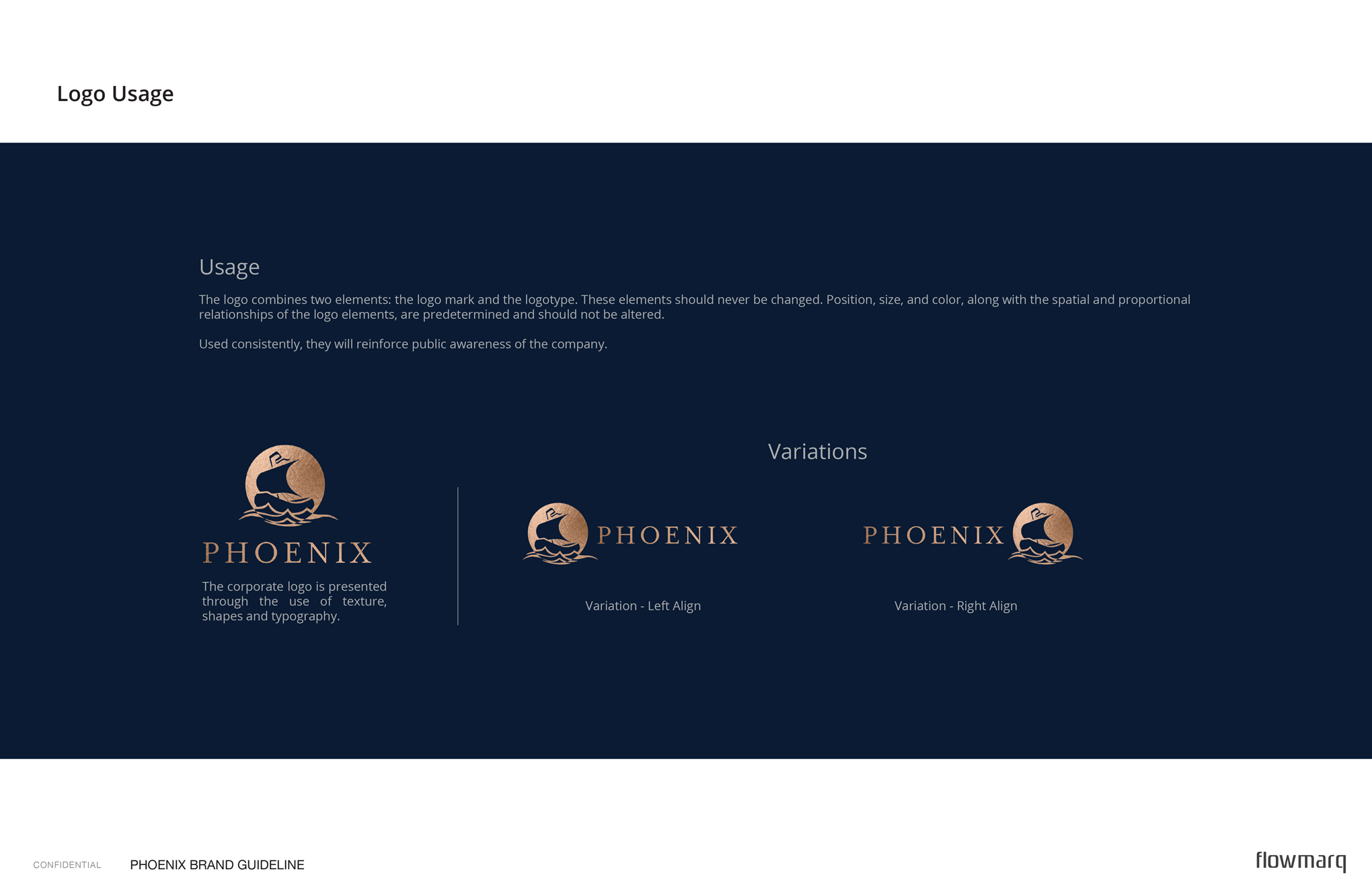 Logo Usage & Logo Design - Phoenix