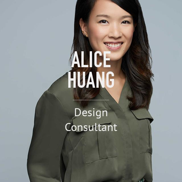 Alice Huang - Design Consultant - bio image