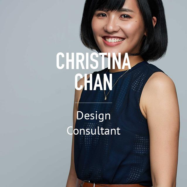 Christina Chan - Design Consultant - bio image