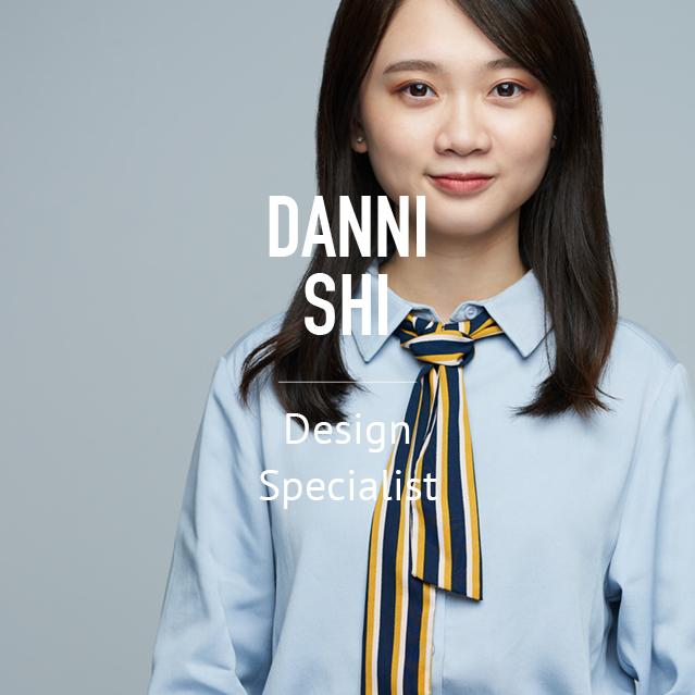 Danni Shi - Design Specialist - bio image
