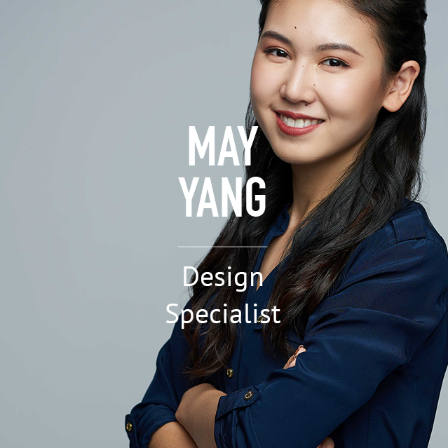 May Yang - Design Specialist - bio photo