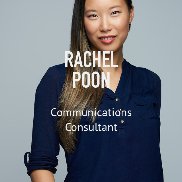 Rachel Poon - Communications Consultant - bio image